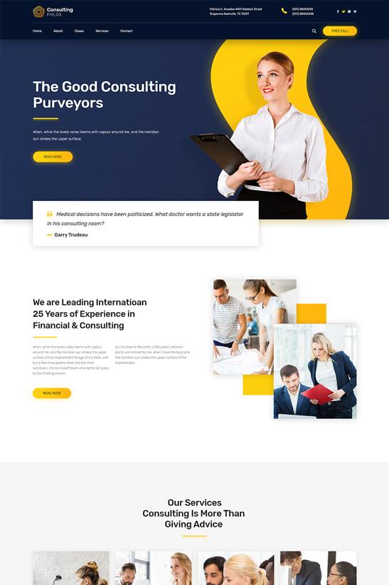 phlox-wordpress-theme-consulting